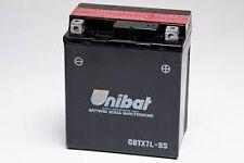 BATTERIA MOTO SCOOTER UNIBAT CBTX7L-BS YAMAHA XC125TRB -XT R - XT X -YBR125ED