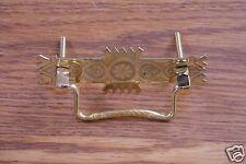 Pull Drawer Dresser Chest Stamped Brass Eastlake