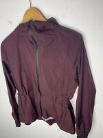 Lululemon 4 Maroon Jacket Purple Flux Define Hoodie Rain Stride Another Mile