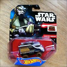 Disney STAR WARS Hot Wheels GARAZEB ORRELIOS #16 diecast Mattel INTL Rebels Zeb