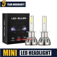 MINI H1 LED Headlight Conversion Bulbs Kit 200W 48000LM 6000K Hi/Lo Beam Lights