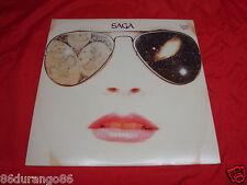 SAGA WORLDS APART  VINYL LP RECORD ALBUM