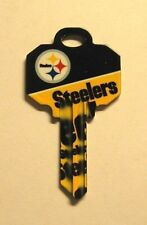 NFL STEELERS BLANK HOUSE KEY FOR 5 PIN SCHLAGE SC1 CAN BE PUNCHED TO YOUR CODE