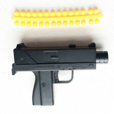 Toy Pistol Gun Shoots Soft Rubber Ammo air Bullet Length 10 cm (Random delivery)