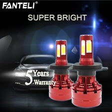 CREE H4 9003 HB2 2360W 354000LM 4-Side LED Headlight Conversion Kit Hi/Low 6000K