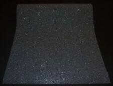 """02403-10) 1 Rolle moderne Vliestapete einfarbig schwarz mit Glitzer """"Easy Wall"""""""