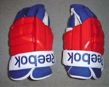 "New York Rangers NEW Reebok 14"" hockey gloves"