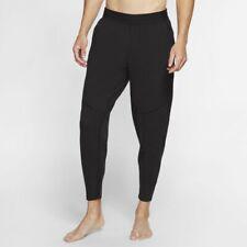 Nike Yoga Dri-FIT Men's Trousers, Black Medium