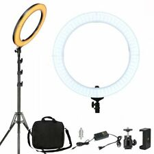 """ZOMEi 18"""" Dimmable LED Ring Light with Stand 58W for Portrait and Live Streaming"""