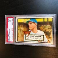 1952 Topps Johnny Klippstein Signed Autographed Baseball Card PSA DNA COA