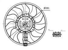Fan, radiator NRF 47418