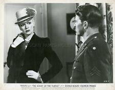 RONALD REAGAN ELEANOR PARKER THE VOICE OF THE TURTLE 1947 VINTAGE PHOTO