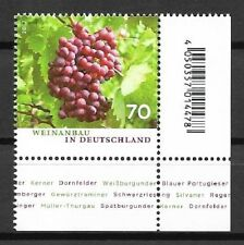 Federal Mi. No. 3334 ** (2017) Mint/wine cultivation in Germany