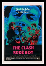 Rude Boy ☆ The Clash ☆1980 Original Movie Poster 1-Sheet ☆ Museum Linen-Mounted!