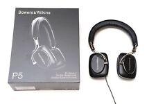 BOWERS & WILKINS P5 ON-EAR Hi-FI STEREO HEADPHONES BLACK - EX-DISPLAY