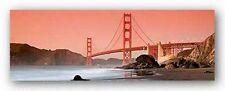 ART PRINT Golden Gate Bridge San Francisco 2 Can Balcioglu