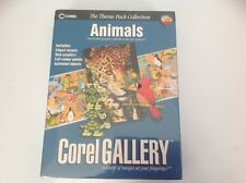 Corel Gallery Animals edition. Brand new sealed