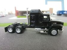 Ho 1/87 Herpa Concor Promotex Mack w/Sleeper Custom painted Black