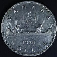 1945 Canadian Silver Dollar - Key Date