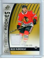 2017 SP Game Used Authentic Rookies Gold Jersey 120/399 ALEX DeBrincat RC #130