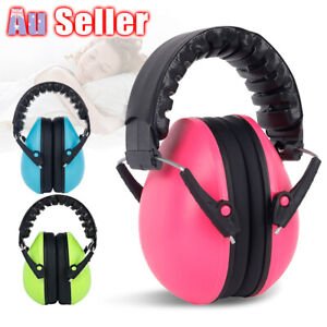 Ear Muffs Earmuffs Noise Defender Kids Baby Hearing Protection Safety Toddler