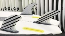 ZENITH  Large  Surfboard TRI FINS , Futures Compatible  Raked Template