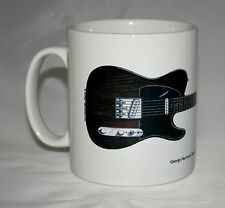 Guitar Mug. George Harrison's Rosewood Fender Telecaster illustration.