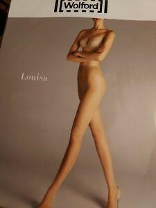 Wolford Louisa Tights, XS, Gobi/swarovski Pearls