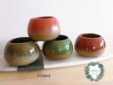 Sale!!!Cute glazing purple sands pot for succulents and cactus