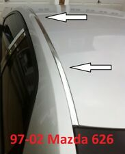 For 1997-2002 MAZDA 626 CHROME ROOF TOP TRIM MOLDING KIT