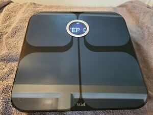 Fitbit Aria FB201B Wi-Fi Black Smart Scale 898628002045