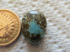 Number Eight Turquoise Cab 9.6 carat Cabochon #8 High Grade Web Blue Spiderweb