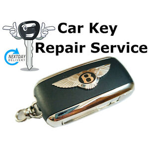 Repair Service for Bentley GT GTC Flying Spur S Sport 3 Button Remote Key Fob