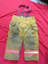 Morning Pride Firefighter Turnout Bunker Pants 44 x 28 fire gear suspenders