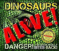 NEW DINOSAURS ALIVE (Augmented Reality Book) by Robert Mash - Hardcover