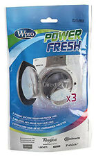 Power Fresh Washing Machine Cleaner For Odour Mould Mildrew Affresh 3 Tablets
