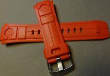 Da Uomo Timex T49984 Shock & Acqua Resistente 18mm Expedition Vibe Rosso
