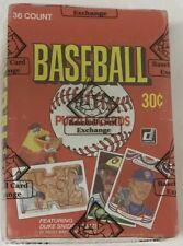 1984 Donruss Baseball Hobby Box GEM Original 36 Pack BBCE Certified