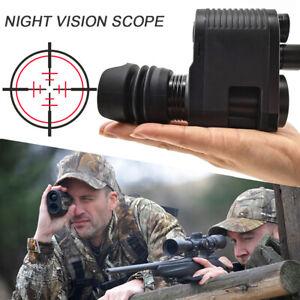 Hunt Rifle Scope Optical Sight Camera IR 850nm Laser Night Vision Video Record
