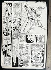 WARLORD ANNUAL 1983 DAN JURGENS MIKE DECARLO ORIGINAL ART