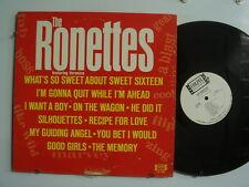 RONETTES feat. VERONICA Soul LP COLPIX White Label Promo DG