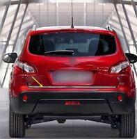 Car Rear Trunk Lid Cover Trim 1pcs for Nissan Qashqai Dualis 2010 2011 2012 2013