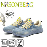 Men's Work Safety Shoes Steel Toe Cap Boots Indestructible Construction Sneakers