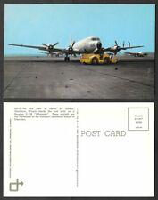 Old Military Aviation Postcard - C-118 Liftmaster