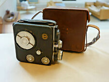 Eumig C3 8mm Movie Camera - early model - working w/ Original Leather Case