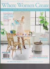 WHERE WOMEN CREATE  MAGAZINE VOL 9 ISSUE 4 AUG/ SEP/ OCT 2107