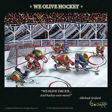 Michael Godard We Olive Hockey Open Edition