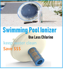 New Solar Copper Silver Swimming Pool Ionizer Clean Water use less Chlorine