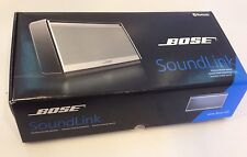BOSE SOUNDLINK WIRELESS MOBILE SPEAKER SILVER WITH BROWN LEATHER BOSE SOUND