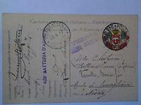POSTA MILITARE FRANCHIGIA 24 DIVISIONE 22-4-1917 - X NOVARA